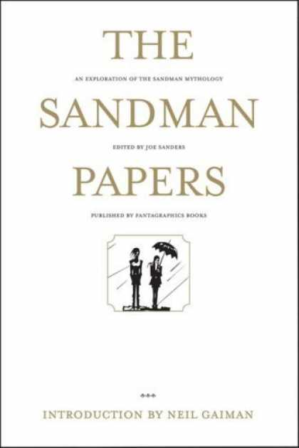 Bestselling Comics (2006) - The Sandman Papers: An Exploration of the Sandman Mythology - Umbrella - Rain - As Exploration Of The Sandman Mythology - Standing - Square Box With Two People