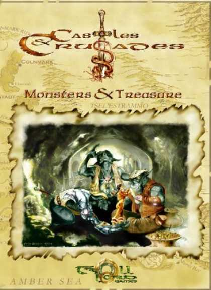 Bestselling Comics (2006) - Castles And Crusades Monsters & Treasures by Davis Chenault - Castles And Crusades - Monsters And Treasure - Sword - Amber Sea - Monsters