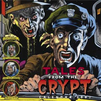 Bestselling Comics (2006) - Tales From the Crypt Calendar 2007 by Workman Publishing Company