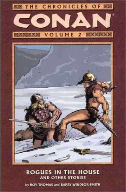 Bestselling Comics (2006) - Rogues in the House & Other Stories (Chronicles of Conan, Book 2) by Roy Thomas - Warrior - Volume 2 - Swordfight - Snow - One On One