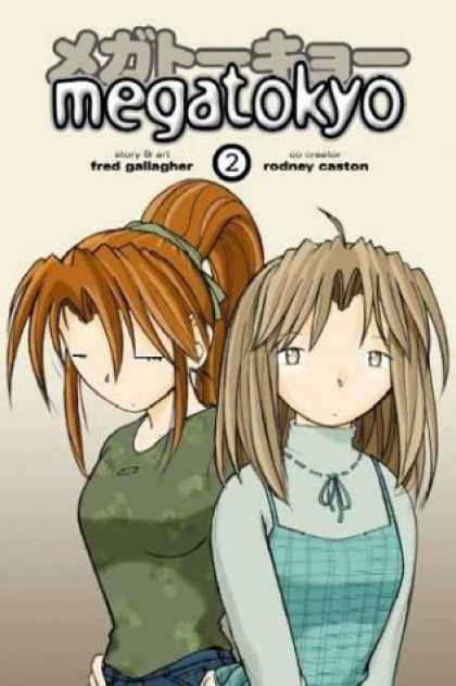 Bestselling Comics (2006) - Megatokyo, Vol. 2 by Fred Gallagher - Megatokyo - Manga - Animanga - Fred Gallagher - Rodney Caston