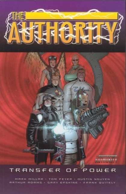Bestselling Comics (2006) - The Authority Vol. 4: Transfer of Power by Mark Millar - Cartons - Violet - Red - Yellow - White