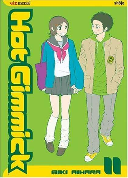 Bestselling Comics (2006) - Hot Gimmick, Volume 11 (Hot Gimmick) by Miki Aihara - Viz Media - Shojo - Miki Aihara - Hat Gimmick - Holding Hands