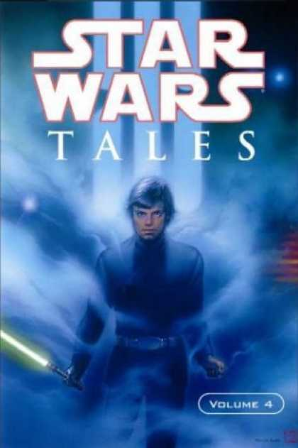 Bestselling Comics (2006) - Star Wars Tales, Vol. 4 - Light Saber - Glowing - Clouds - Stars - Painting