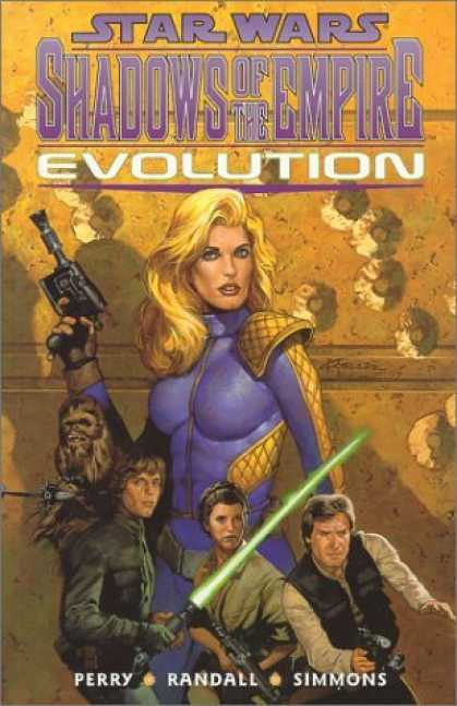 Bestselling Comics (2006) - Star Wars - Shadows of the Empire: Evolution by Steve Perry - Star Wars - Shadows Of The Empire - Perry - Evolution - Randal