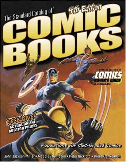 Bestselling Comics (2006) 2028 - The Standart Catalog - 4th Edition - Claws - Wolverine - Superheroes