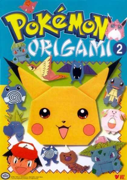 pokemon origami pokemon world