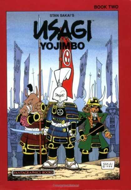 Bestselling Comics (2006) - Usagi Yojimbo, Book 3: The Wanderer's Road by Stan Sakai - Ugasi - Yo Jimbo - Fighters - Troop - Action