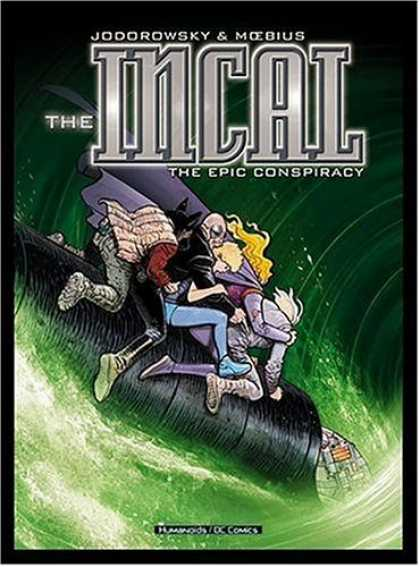 Bestselling Comics (2006) - Incal, The: The Epic Conspiracy - Volume 1 by Alejandro Jodorowsky - Superhero - Fighting - Ride - Water - People