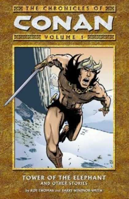 Bestselling Comics (2006) - Tower of the Elephant & Other Stories (Chronicles of Conan, Volume 1) by Roy Tho