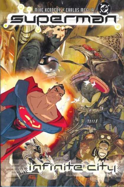 Bestselling Comics (2006) - Superman: Infinite City (Superman (Graphic Novels)) by Mike Kennedy - Mike Kennedy - Carlos Meglia - Dc - Infinite City - Man