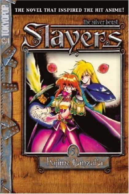 Bestselling Comics (2006) - Slayers Text, Vol. 5: The Silver Beast (Slayers (Tokyopop)) - Tokyopop - Slayers - The Silver Beast - The Novel - Hajime