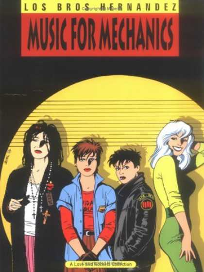 Bestselling Comics (2006) - Music for Mechanics (Complete Love and Rockets, Book1) Vol. 1 by Gilbert Hernand