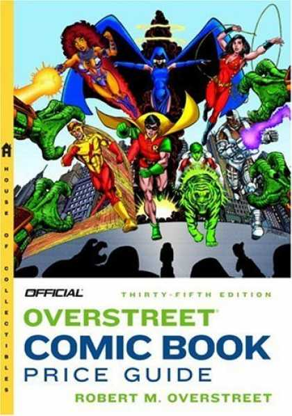 Bestselling Comics (2006) 2088 - Robert M Overstreety - Thirty-fifth Edition - Super Hearos Galore - A House Of Collectibles - Official
