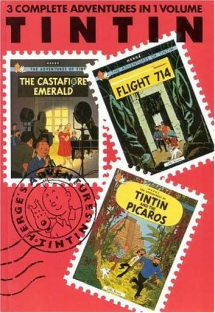 Bestselling Comics (2006) - The Adventures of Tintin: The Castafiore Emerald, Flight 714, Tintin and the Pic - The Pink Special - Good Read Indeed - Best Things Come In Threes - Make Room For More - Excellent