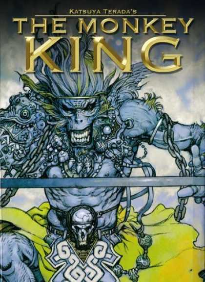 Bestselling Comics (2006) - The Monkey King Volume 1 (Monkey King) by Katsuya Terada - Katsuya Terada - The Monkey King - Chains - Teeth - Skull