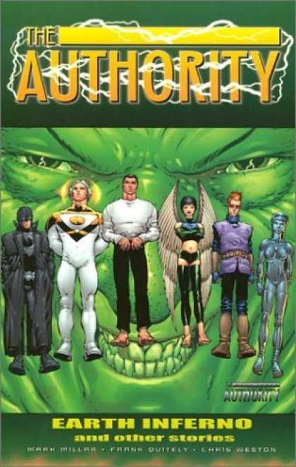Bestselling Comics (2006) - The Authority Vol. 3: Earth Inferno and Other Stories by Mark Millar - The Authority - Earth Inferno - Mark Miller - Frank Outiley - Ching Weston