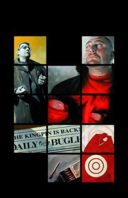 Bestselling Comics (2006) - The Murdock Papers (Daredevil, Vol. 13) by Brian Michael Bendis - Touble Men - In Trouble - Problems - Need Help - Target Trouble