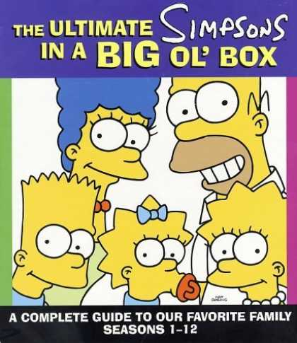 Bestselling Comics (2006) - The Ultimate Simpsons in a Big Ol' Box: A Complete Guide to Our Favorite Family