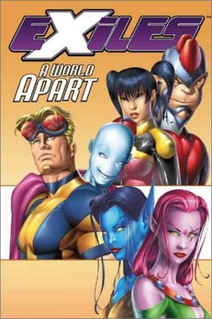 Bestselling Comics (2006) - A World Apart (Exiles, Book 2) by Judd Winick