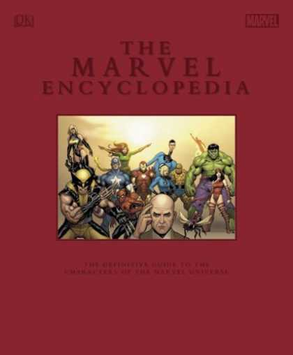 Bestselling Comics (2006) - The Marvel Encyclopedia: Limited Edition by DK Publishing