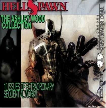 Bestselling Comics (2006) - Hellspawn: The Ashley Wood Collection by Brian Michael Bendis - Hell Spawn - Ashley Wood Collection - Todd Mcfarlane - Spawncom - Extraordianry Sequential Work