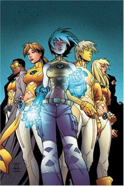 Bestselling Comics (2006) - New X-Men: Academy X Vol. 1: Choosing Sides by Nunzio Defilippis - Cartoon - Kids Power - The Best 5 Friends - The Heroes - Perfect Team