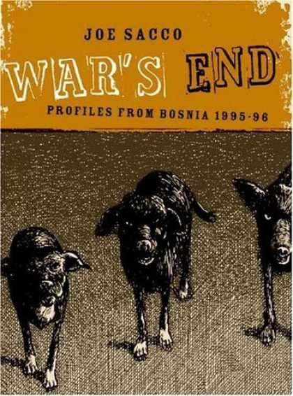 Bestselling Comics (2006) - War's End: Profiles From Bosnia 1995-1996 by Joe Sacco - Sheep - Black - Land - Soil - Fur