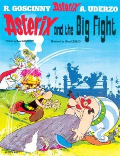 Bestselling Comics (2006) - Asterix and the Big Fight (Asterix) by Rene Goscinny - R Goscinny - A Uderzo - Asterix - And The Big Fight - Boxing