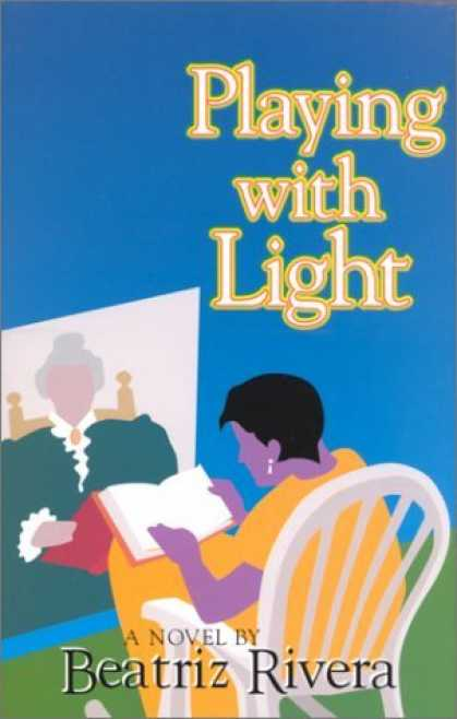 Bestselling Comics (2006) - Playing With Light: A Novel by Beatriz Rivera - Women - Book - Blue - Chair - Earring