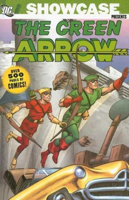 Bestselling Comics (2006) - Showcase Presents: Green Arrow, Vol. 1 (Green Arrow (Graphic Novels)) by Jack Mi - Showcase - The Green Arrow - Dc - Car - Over 500 Pages Of Comics