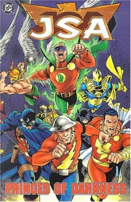 Bestselling Comics (2006) - JSA: Princes of Darkness (Book 7) by Geoff Johns - Jsa - Princes - Darkness - Dc - Super Heros