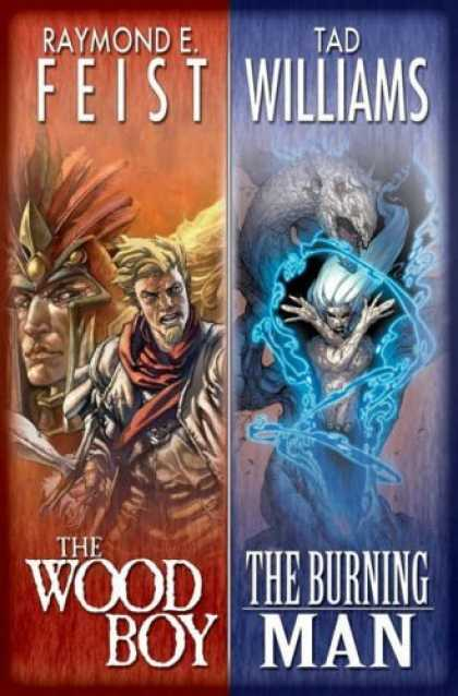Bestselling Comics (2006) - The Wood Boy - The Burning Man by Raymond E. Feist - Monster - Power - Tad Williams - Raymond Feist - Man