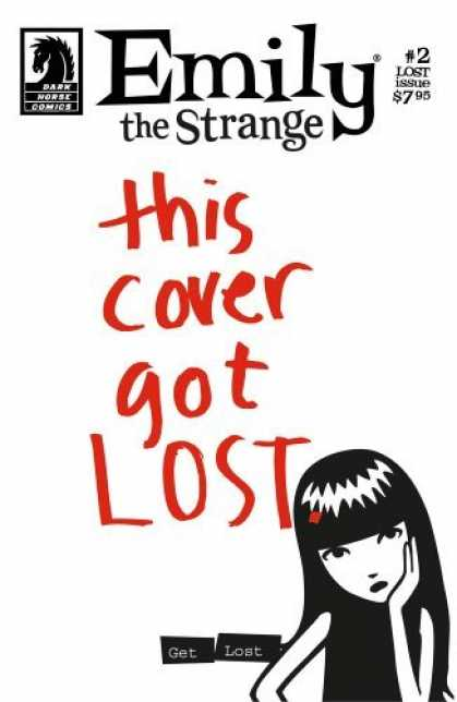 Bestselling Comics (2006) - Emily The Strange #2: The Lost Issue (Emily the Strange) by Cosmic Debris