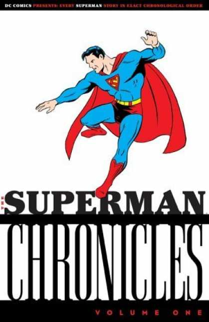 Bestselling Comics (2006) - Superman Chronicles, Vol. 1 (Superman (Graphic Novels)) by Jerry Siegel - Superman - The Superman Chronicles - Cape - Hero - Muscles