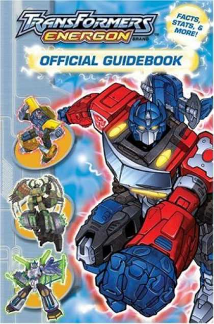 Bestselling Comics (2006) - Transformers Energon Offical Guidebook by Michael Teitelbaum
