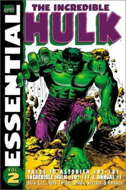 Bestselling Comics (2006) - Essential Incredible Hulk, Vol. 2 (Marvel Essentials) by Stan Lee