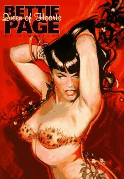 Bestselling Comics (2006) - Bettie Page: Queen of Hearts by Jim Silke - Bette Page - Queen Of Hearts - Bangle - Hair
