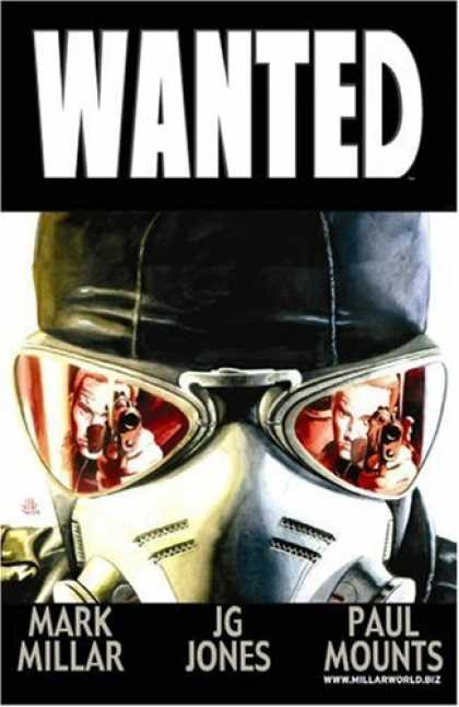 Bestselling Comics (2006) - Wanted by Mark Millar - Gun - Goggles - Shoot - Red - Cap