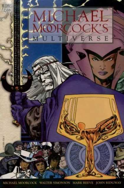 Bestselling Comics (2006) - Michael Moorcock's Multiverse by Michael Moorcock - Sword - Man - Woman - Evil - Goblet