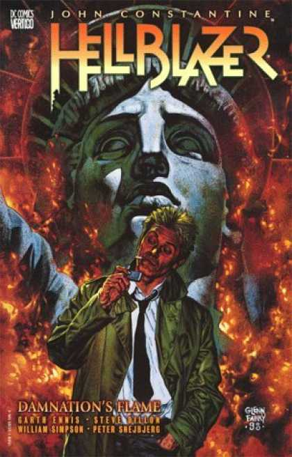 Bestselling Comics (2006) - Hellblazer: Damnation's Flame (Hellblazer (Graphic Novels)) by Garth Ennis