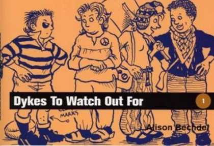 Bestselling Comics (2006) - Dykes to Watch Out for by Alison Bechdel - Lesbians - Dykes To Watch Out For - Alison Bechdel - Women - Peace Symbol