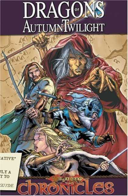 Bestselling Comics (2006) - Dragonlance Chronicles Volume 1: Dragons Of Autumn Twilight by Margaret Weis