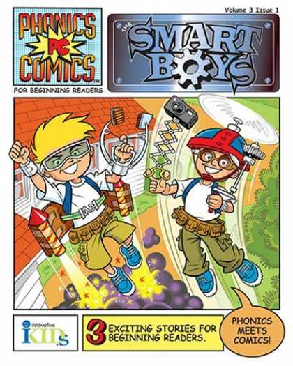 Bestselling Comics (2006) 2396 - Phonics Comics - Smart Boys - Gears - Inventions - Rockets