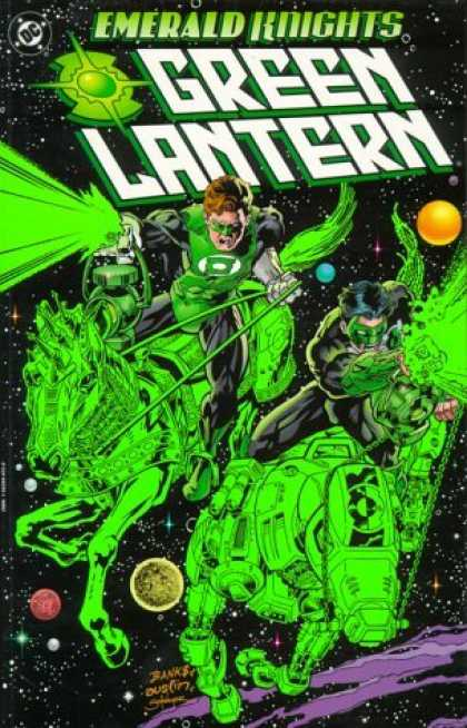 Bestselling Comics (2006) - Green Lantern: Emerald Knights by Ron Marz - Dc - Emerald Knights - Green Lantern - Space - Horse