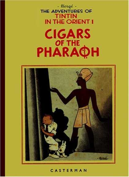 Bestselling Comics (2006) - The Adventures of Tintin: Cigars of the Pharaoh (Adventures of Tintin (Facsimile - Casterman - Cigars - Tintin In The Orient F1 - White Dog - Egyptian Figure