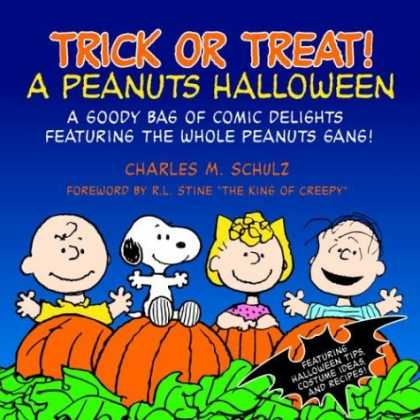 Bestselling Comics (2006) - Trick or Treat: A Peanuts Halloween by Charles M. Schulz - Pumpkins - Snoopy - Halloween Tips - Peanuts Gang - Costume