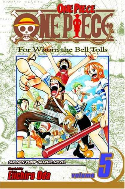 Bestselling Comics (2006) - One Piece Vol. 5: For Whom the Bell Tolls
