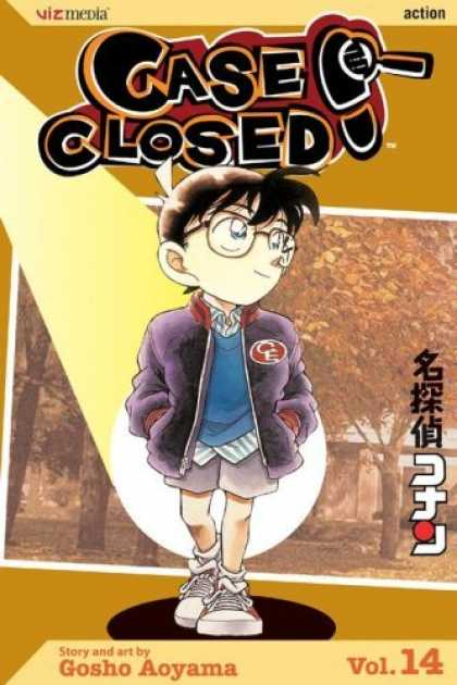 Bestselling Comics (2006) - Case Closed, Vol. 14 by Gosho Aoyama - Boy - Glasses - Brown - Detective - Action