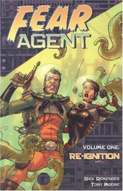 Bestselling Comics (2006) - Fear Agent Volume 1: Re-Ignition by Rick Remender - Re-ignition - Space Suit - Laser Guns - Tentacles - Green